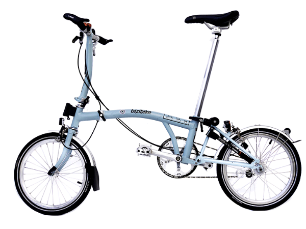 Bromptom bike rental Bilbao